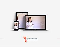 Paula Podologista/Podiatra Site
