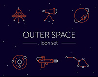Outer Space // icon set