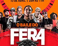 FLYER - BAILE DO FERA