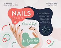 Nail Design Salon   Modern and Creative Templates Suite