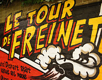 Graffiti workshop 'Le Tour de Freinet'