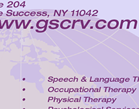 Business card for GCS, Inc.