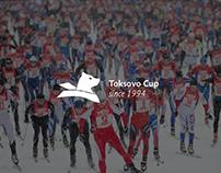 Логотип Токсовского лыжного марафона