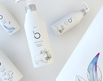 Biaoliism shampoo package design