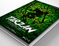 Capa do Livro Tarzan - Trabalho Acadêmico