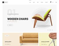 Furniture store. WordPress Theme