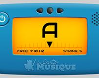 accordeur de guitare en ligne pour lacartemusique.fr