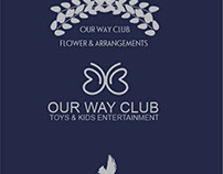 Logo and brand 3 in one OUR CLUB