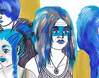 Blauwe Vrouwen