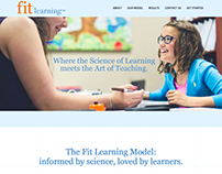 Fit Learning Website