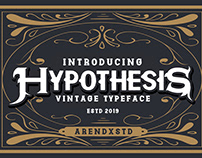 FREEBIES TATTO FONT - HYPOTHESIS FONT