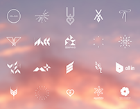 Oblakk at dawn | Logo collection