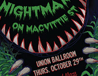 Nightmare on MacVittie St. Event Poster
