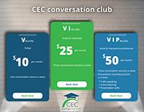 CEC conversation club
