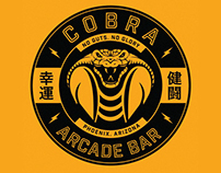 Cobra Arcade Bar Logo
