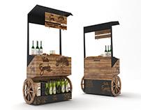 Yudum Egemden tasting stand design