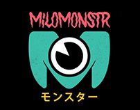 MiloMonster Logo Design