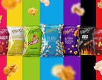 Korneez Popcorn Packaging