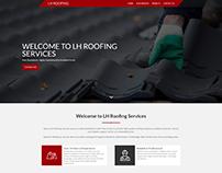 LH Roofing Website Design