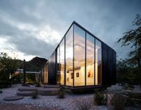 Artist studio in Arizona