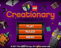 LEGO Halloween Creationary