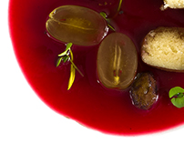 Grapes, Raspberry & Marzipan, A Vegan Approach