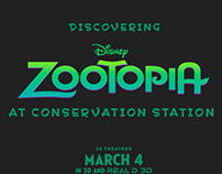 Disney Zootopia at Conservation Station