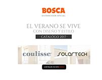 Bosca: Catálogo 2017 Coulisse-Solartech
