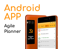 🎯 Agile planner — UX/UI App