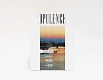 'Opulence' - Magazine design