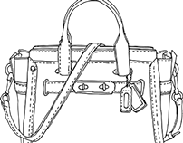 Handbag CAD Drawings