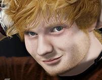 Ed Sheeran portrait