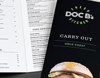 Doc B's Fresh Kitchen Menus