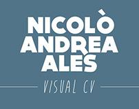 NICOLÒ ANDREA ALES - VISUAL CV