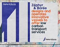 Zéphyr & Borée Corporate identity