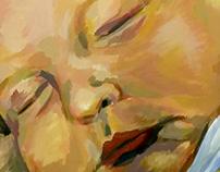 Ismael - Acrylic portrait