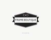 Frame Boutique Style Guide