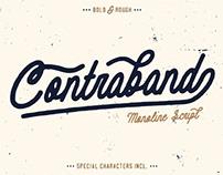 CONTRABAND - FREE MONOLINE SCRIPT FONT