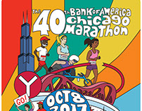Bank of America Chicago Marathon Poster