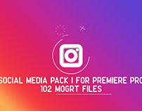 Social Media Pack | MOGRT for Premiere PRO