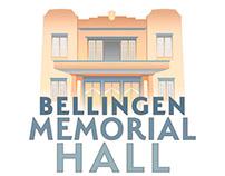 Bellingen Memorial Hall LOGO, website & photography
