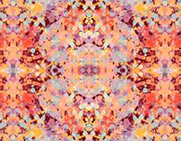 Funky Splashes/ Textile Design/ Patternbank