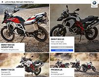 BMW test rides website
