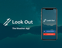 Look Out - The weather app UI-UX