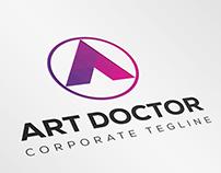 ArtDoctor(A letter Logo)