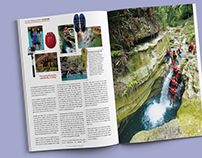 Published Works | Mabuhay Magazine - Cebu Canyoneering
