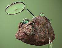 Be a little boulder