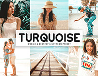 Free Turquoise Mobile & Desktop Lightroom Preset