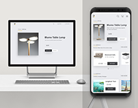 Ecommerce Responsive UI Design