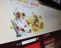 Comida Loca Web Design